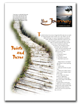 first issue of The Journey