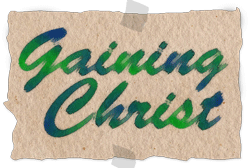 Gaining Christ Logo